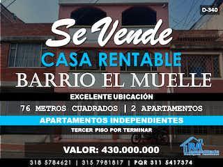 Casa en venta en Santa Helena 152m²