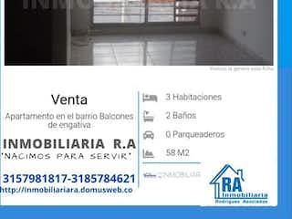 Apartamento en venta en Engativá Pueblo de 3 habitaciones