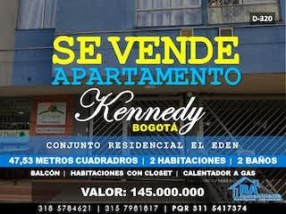 Apartamento en venta en Lago Timiza 47m²