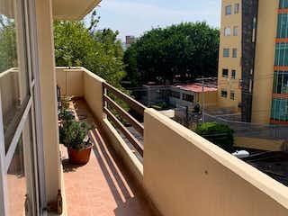 Del Valle, Amplio departamento con terraza, ideal para inversionista
