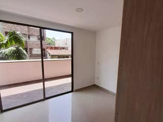 Una vista de una sala de estar desde una ventana en venta de apartamento en Belen Malibu (Medellin)