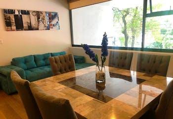 Departamento en venta, Col. Roma Norte 120 m² con terraza