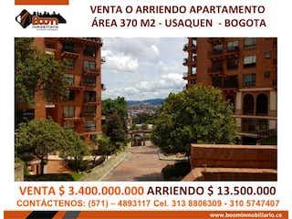 Apartamento en venta en Vía La Calera de 370m² con Bbq...