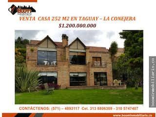 Casa en venta en Las Mercedes Suba de 252m² con Jardín...
