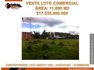Comercial 11690 M2 Chia, Lote en venta en Bojacá de 11690m²