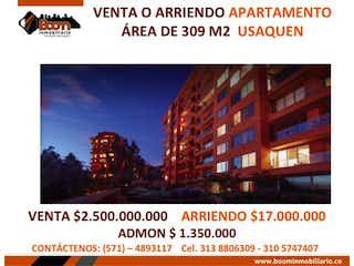 Apartamento en venta en Barrio Usaquén de 4 habitaciones