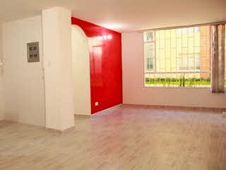 Un cuarto de baño con lavabo y ducha en Apartamento en venta en San Antonio Norte, 45mt