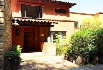 Casa en venta en condominio horizontal San Lorenzo Acopilco, Cuajimalpa.
