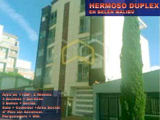 Hermoso Duplex Beln Malib, Apartamento en venta en Rosales, 116m²