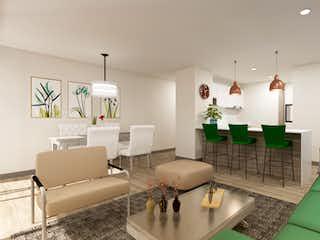 Una sala de estar llena de muebles y decoración en Natura 128
