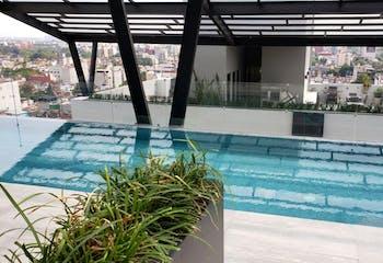 Estrene departamento 150 m2, 3 recs, 2 baños, 1 cajón, alberca, gym, RG común
