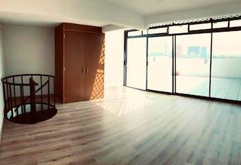 Penthouse de 111 m2, 2 recs., 2 baños, 2 cajones indep., RG privado
