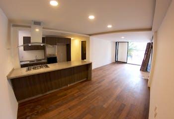 Departamentos en venta en Narvarte 101 m2 con pisos de madera