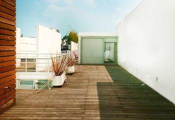 Departamento en venta en Polanco, con roof garden privado.