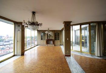 Departamento en venta, Col. Condesa con balcón