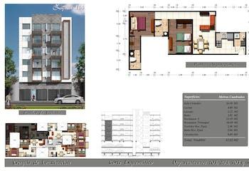 Departamento en venta en Portales Sur de 67.80 m2 con 2 recámaras