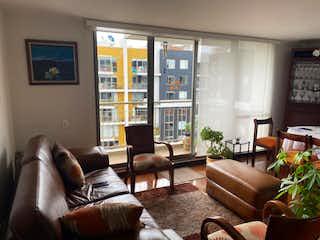 Apartamento en venta en Santa Cecilia, 98mt con balcon