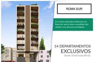 Departamentos en Preventa en la colonia Roma Sur, $5,021,000