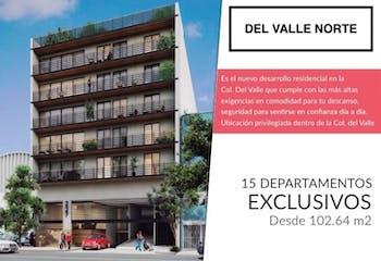 Departamentos nuevos en Colonia Del Valle Centro