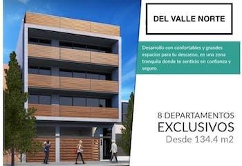 Departamentos nuevos en Venta en colonia Del Valle Norte, $7,391,000