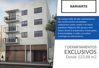 Departamentos nuevos en Venta en Narvarte Poniente, $5,967,000