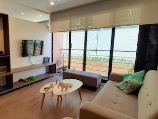 Apartaestudio en venta en Bella Suiza, 60mt con balcon