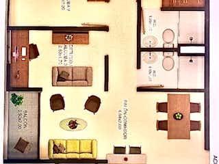 Apartamento en venta en Tierra Amarilla de 2 alcoba