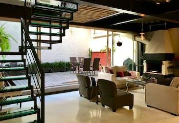 Departamento en venta en Lomas de Chapultepec de 228 mt2. con terraza.