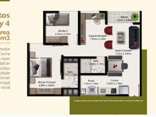 Apartamento en la Estrella Unidad Primitiva