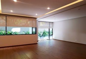 218m2. de Garden House 2r nuevo Polanco con patio de 50 m2. !estrena!