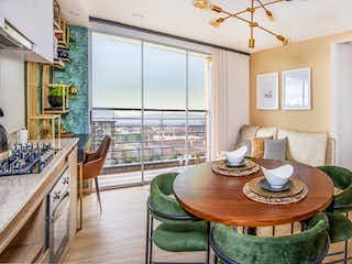 Una sala de estar llena de muebles y una lámpara de araña en La Felicidad - El Roble