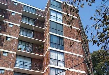 Departamento en venta en Col. Doctores 56 m² con balcón
