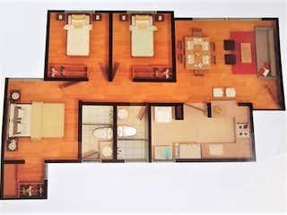 D Multicentro Funza 3h2b1g, Apartamento en venta en Casco Urbano Funza, 64m² con Jardín...
