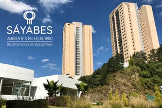 Departamentos excelente precio en Nueva Torre 3 Sayabes en Bosque Real