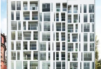 Departamento en venta en San José Insurgentes, 80 m²
