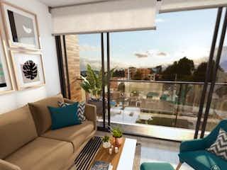 Una sala de estar llena de muebles y una ventana en Living Sabana