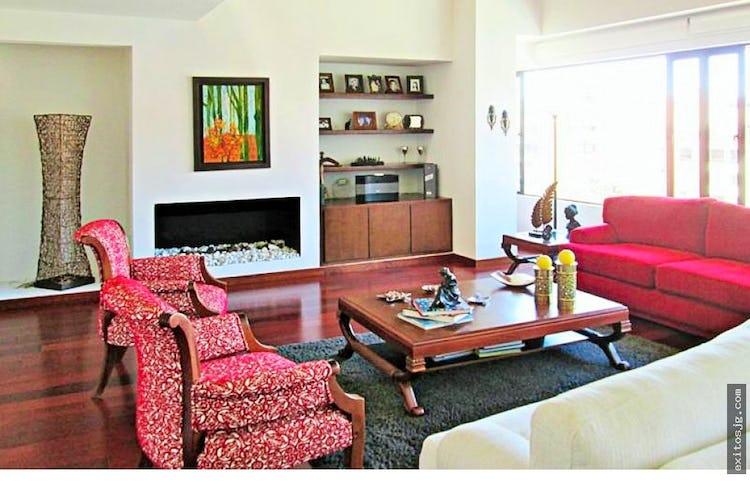 Portada Venta de apartamento penthouse en Nogal, Bogotá, Cuatro Alcobas