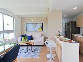 Una sala de estar llena de muebles y una televisión de pantalla plana en Aragua de Primavera