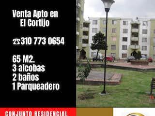 Vendo  apartamento en precioso condominio de EL CORTIJO calle 80