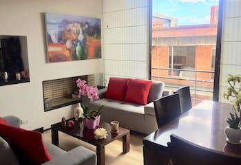 Apartamento en venta en Rincón del Chicó de dos habitaciones