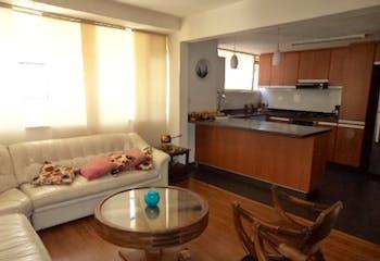 Apartamento de 124m2 en San Patricio, Bogotá - con tres alcobas