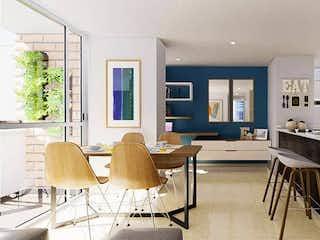 Una sala de estar llena de muebles y una mesa en Asaí