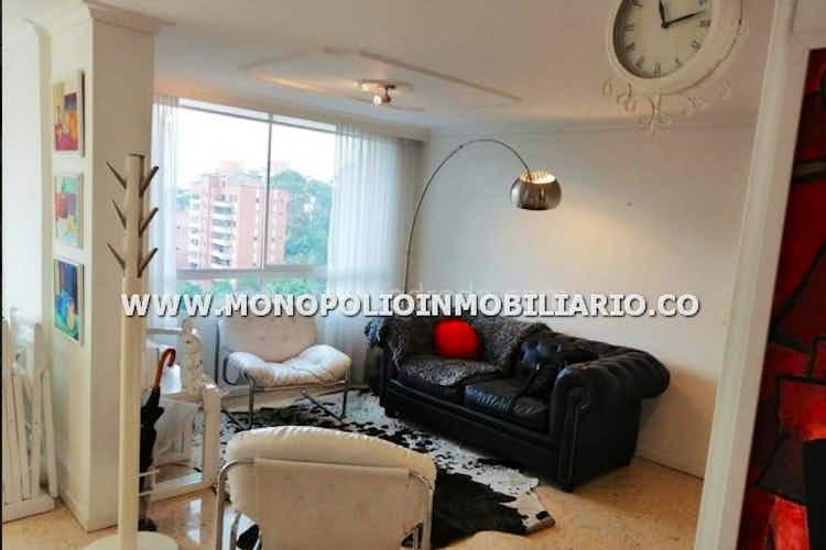 Portada Apartamento en El Campestre, Poblado, 3 Habitaciones- 123m2.