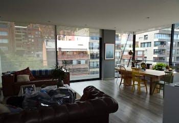 Apartamento en venta, Bogotá-Rosales, cuenta con 2 habitaciones.