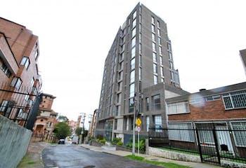 Apartamento En Venta En Bogotá-Chapinero Alto, cuenta con 2 habitaciones.