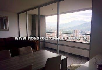 Apartamento en El Carmelo, Sabaneta, Tres Alcobas 80m2.