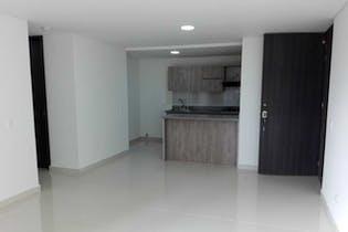 Apartamento en Calle Larga, Sabaneta, 3 Habitaciones- 77m2.