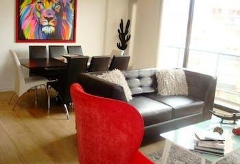 Apartamento en Bogotá-Santa Barbara, cuenta con 3 habitaciones.