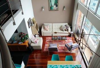 Apartamento Dúplex de 113m2 en Bogotá, Centro Internacional - con tres alcobas