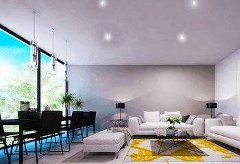 Desarrollo inmobiliario, Eje Central 806, Departamentos en venta en Portales 64m²